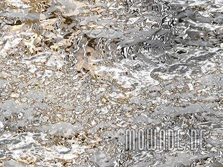 wandtapete grau gold wohnzimmer edel
