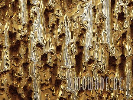 ausgefallene tapete gold rost metall vlies