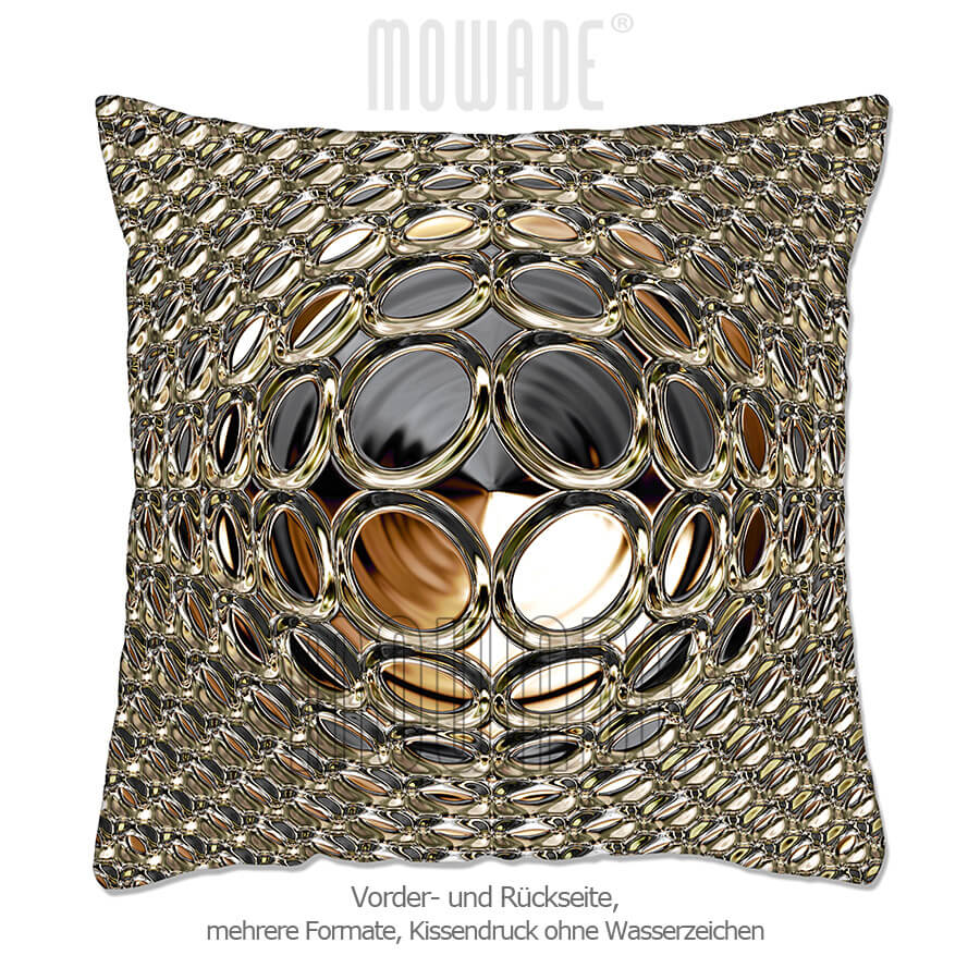 deko-kissen schwarz gold 50x50 60x40 50x30 40x40 sofa glamour-kugel