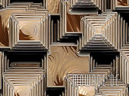 edle fototapete pyramiden gold schwarz