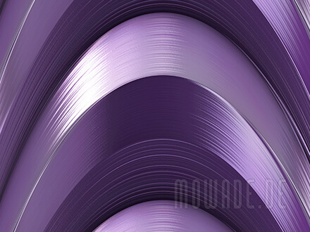exclusives wanddesign violett faecherbogen