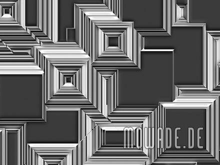 geometrische fototapete stadt-bild grau abstrakt