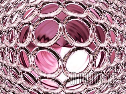 kissen-design rosa pink schmuck glamour-kugel