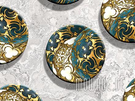 kissen weihnachts-deko sofa tuerkis gold ornament-kugeln
