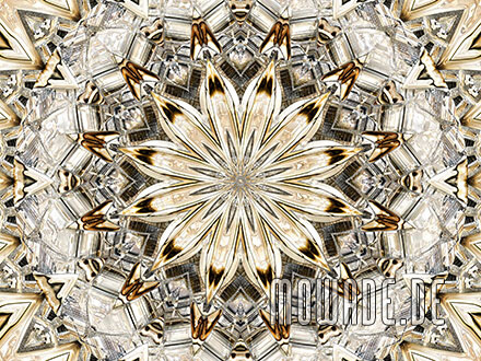 kissenmotiv neo-barock rosette hellbraun beige