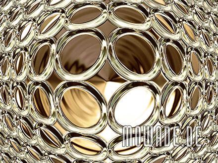 moderne bildtapete gold glamour disco kugel