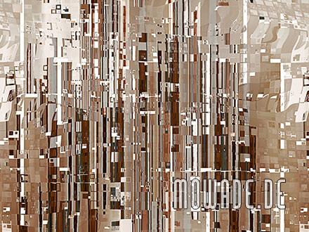 modernes tapetenbild online braun stadtlandschaft