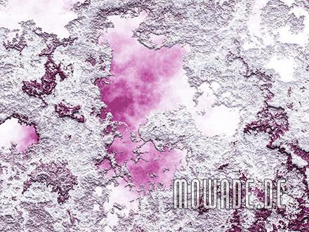 modernes tapetendesign pink weiss struktur-wand
