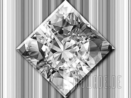 quadratisches kissen diamant bild grau weiss wohnzimmer