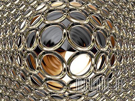schmuck-kissen design schwarz gold glamour-kugel