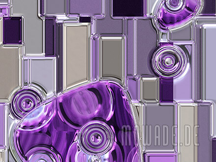 sofa-kissen design violett modernes bild