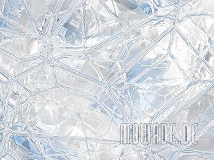 tapete weiss blau glas mosaik