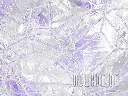tapete weiss flieder glas mosaik