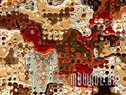 exklusive wandgestaltung gold rot braun vliestapete