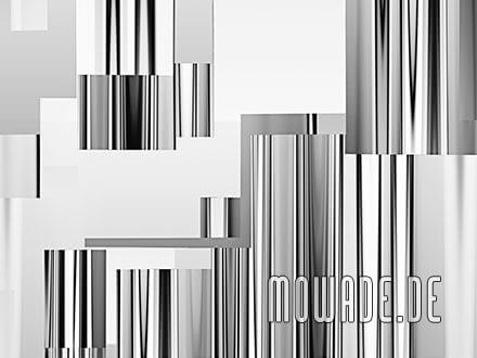 modernes wanddesign grau bild-tapete vlies abstrakte stadt-ansicht skyline