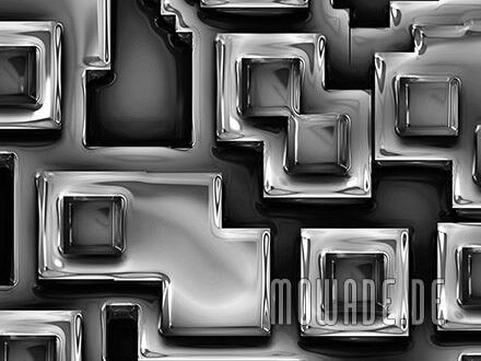 tapeten-bild schwarz online-kaufen 3d-optik