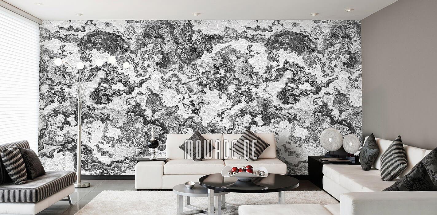 wandbelag grau weiss moderne erd-stein-struktur wohnzimmer-tapete