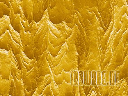 wandgestaltung gelb wohnzimmer hotel modern abstrakte berglandschaft fototapete