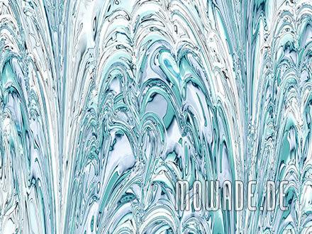 fototapete pastell tuerkis weiss schlaf-wohn-zimmer fontaenen springbrunnen