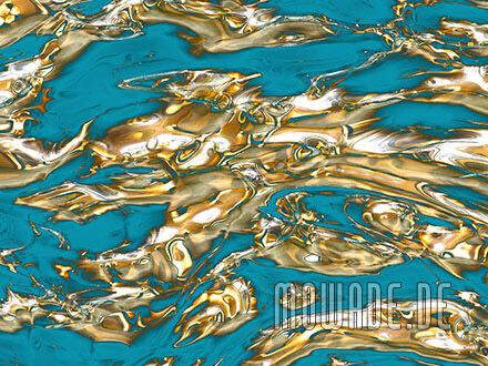 luxustapete tuerkis gold modern vlies