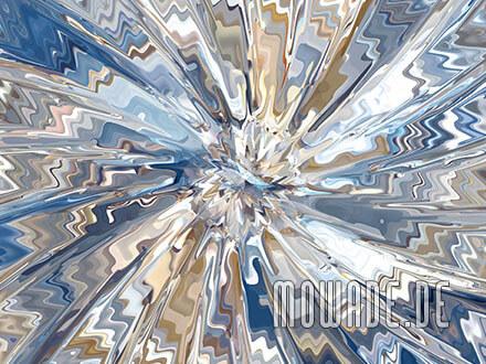moderne kunst online tuerkis sand expressive explosion