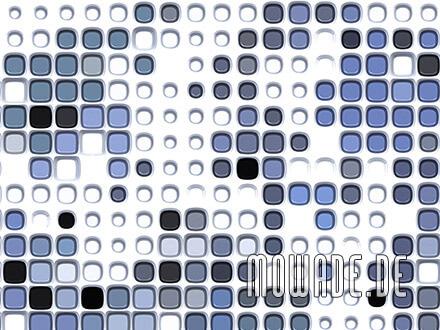 moderne tapeten online kaufen weiss blau abstrakte punkte wohnzimmer