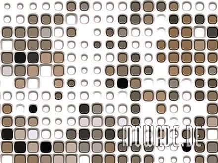 moderne tapeten online shop bild weiss graubraun abstrakte punkte
