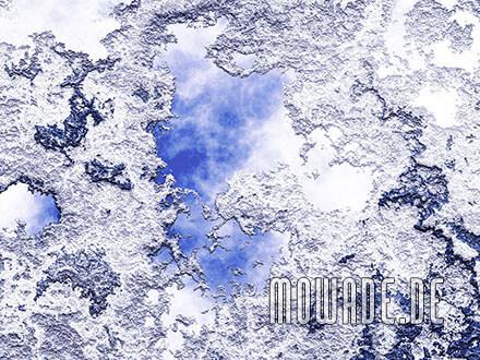 moderne tapeten weiss blau putz-struktur bild