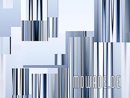 modernes wanddesign blau bild tapete vlies abstrakte stadt-ansicht-skyline