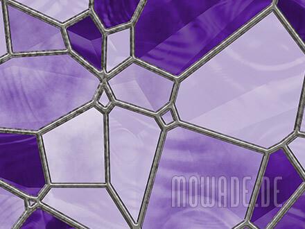 tapeten design violett flieder mosaik vlies wohnzimmer