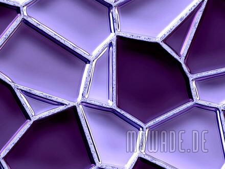 vliestapete violett mosaik waben metall-optik bar hotel