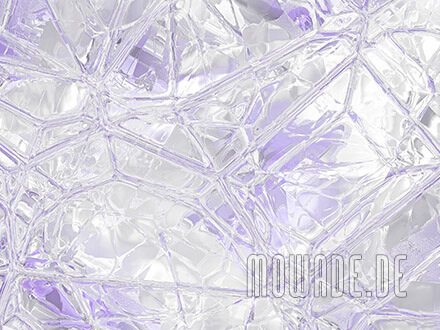 wandbelag weiss flieder glas-mosaik bild-tapete online