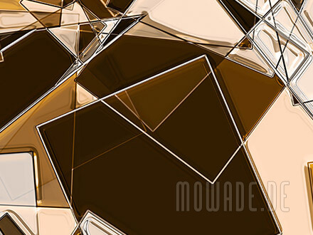 wandbild braun beige sand geometrie quadrate online