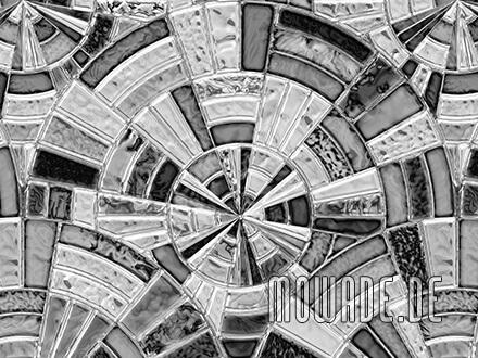 vintage tapeten grau mosaik kreise vlies