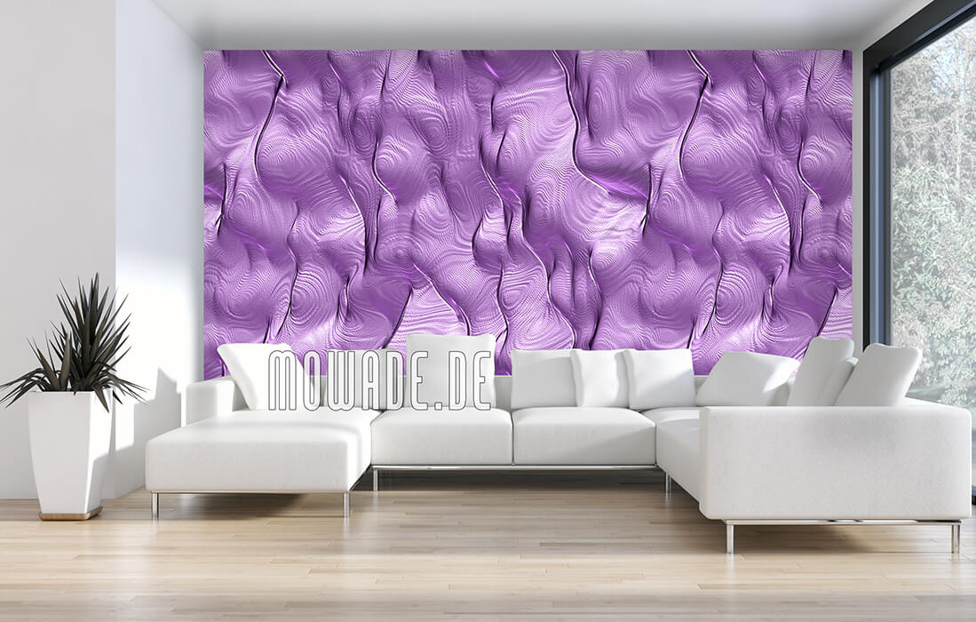 fototapete violett elegantes motiv