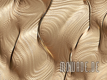vliestapete gold extravagantes muster