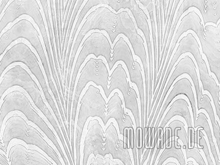 exklusive tapete weiss dezentes damast-muster
