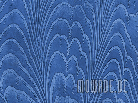 vliestapete blau edles damast-muster