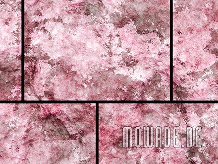 steinoptik wand wohnzimmer tapete rot
