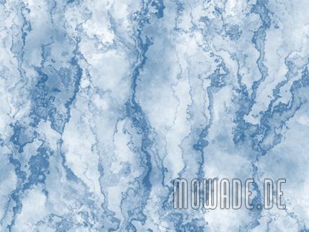 tapeten online steinoptik hellblau wohnzimmer