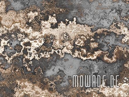 wandbild grau braun erd-stein-struktur antik-optik tapete