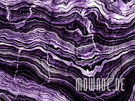 wohnzimmer-tapete violett steinoptik schichten