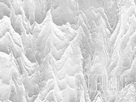 wohnzimmer tapete weiss abstrakte berglandschaft